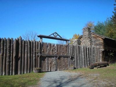 Fort Delaware Gates image. Click for full size.