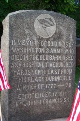 Soldiers of Washington's Army Memorial image. Click for full size.
