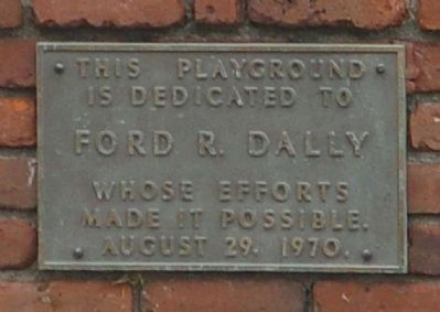 Official Ford R. Dally Park tablet image. Click for full size.
