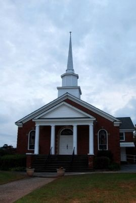 Clifton Second Baptist Church image. Click for full size.