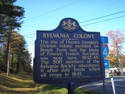 Sylvania Colony Marker Photo, Click for full size
