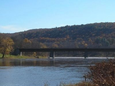 Roebling�s Delaware Aqueduct image. Click for full size.
