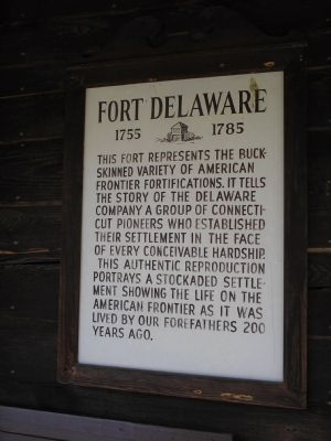 Fort Delaware Marker image. Click for full size.
