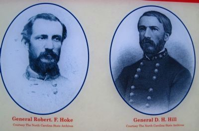 Generals Robert F. Hoke and D. H. Hill image. Click for full size.