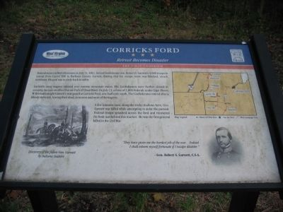 Corricks Ford Marker image. Click for full size.
