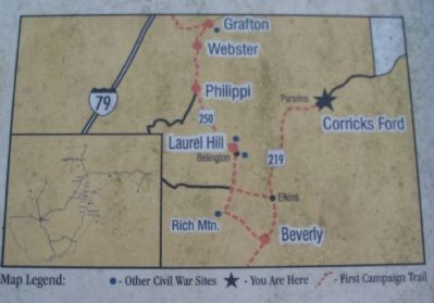 Close Up of the Area Map image. Click for full size.