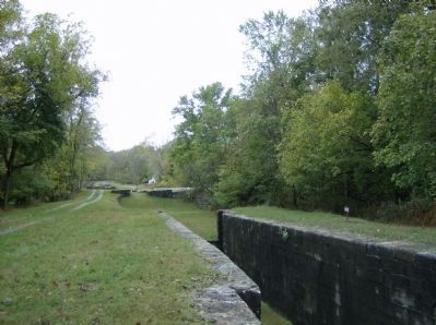 View from Lock #47 Photo, Click for full size