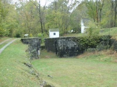 View of the entrance to Lock #50 Photo, Click for full size