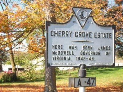 Cherry Grove Estate Marker image. Click for full size.