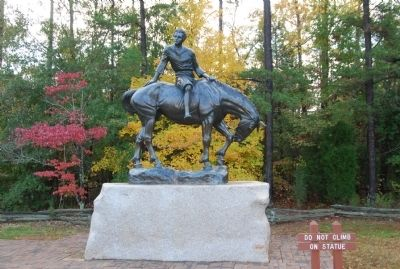 Jackson Statue image. Click for full size.