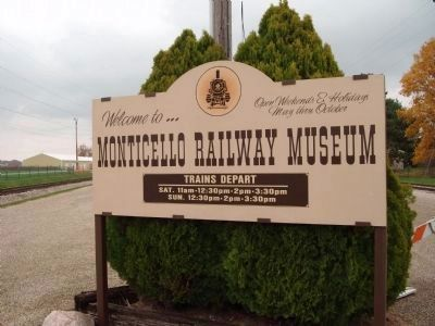 Railroad Museum - Sign image. Click for full size.