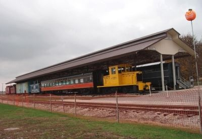 "Some of the ""Rolling Stock"" of Railroad Museum image. Click for full size."