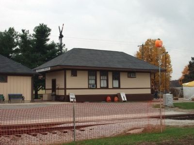 "Obverse View - - ""Nelson's Crossing"" Depot image. Click for full size."