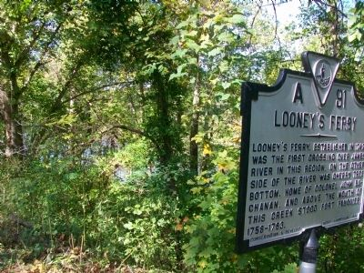 Looney's Ferry Marker image. Click for full size.