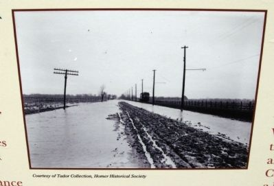 "Close-up Photo - - Road a ""Sea of Mud"" image. Click for full size."