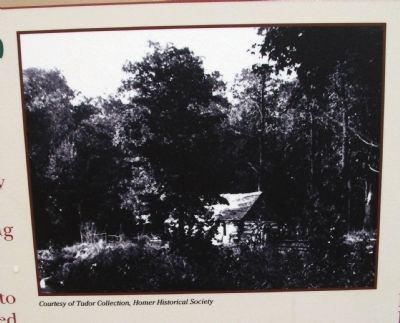 Close-up Photo - - Bottom Section Marker Photo 'The Clark Neighborhood' image. Click for full size.