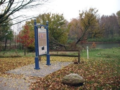 Other Wide View - - The Clark Neighborhood / Marker - Side image. Click for full size.