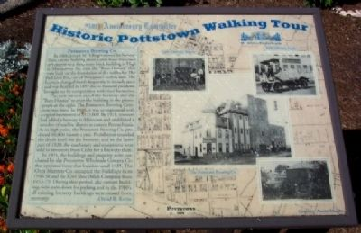 Pottstown Brewing Co. Marker image. Click for full size.