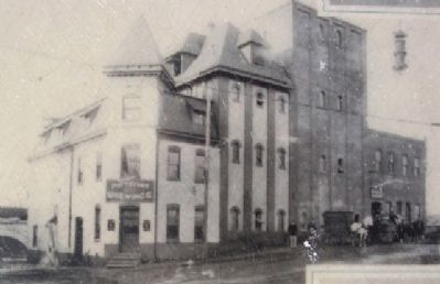 Pottstown Brewing Co. Photo on Marker image. Click for full size.