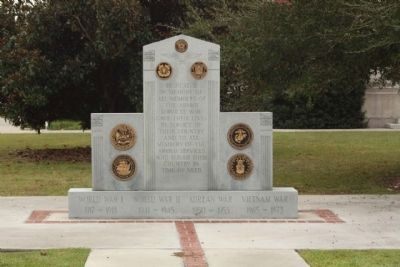 Clarendon County Veterans Memorial Marker image. Click for full size.