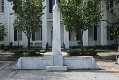 Clinch County World War II Memorial image. Click for full size.