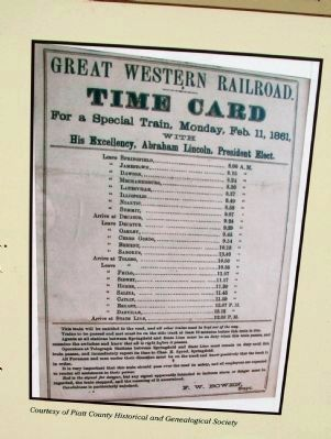 "Close-up Photo - - ""Time Card"" Great Western Railroad image. Click for full size."