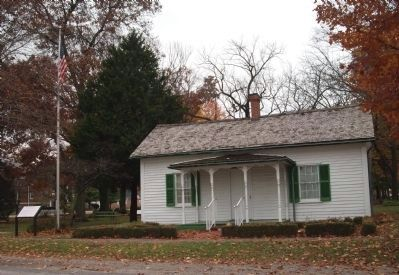 Francis & Sarah Bryant - Cottage (Home) Illinois State Historic Site image. Click for full size.