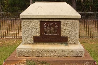 Francis Marion's Grave , south face Photo, Click for full size