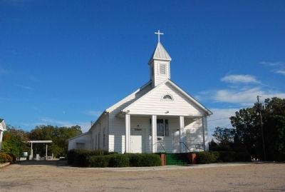 Camp Creek Methodist Church image. Click for full size.