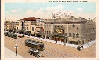 Electric Trolleys on Broad Street image. Click for full size.