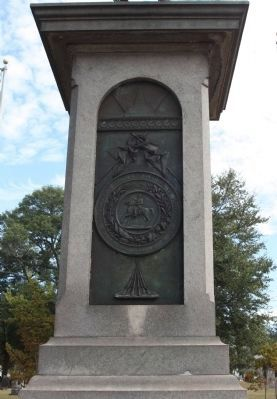 Confederate Monument west face image. Click for full size.