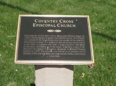 Coventry Cross Episcopal Church Marker image. Click for full size.