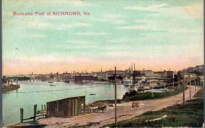Rocketts Port of Richmond, Va. image. Click for full size.