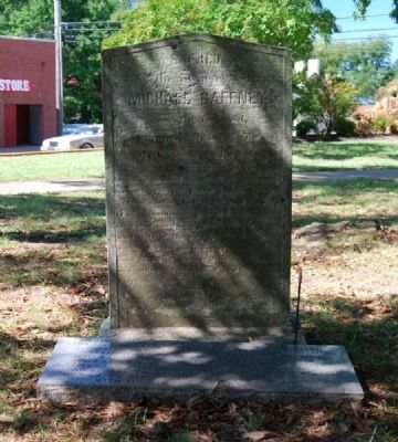 Michael Gaffney Tombstone Photo, Click for full size