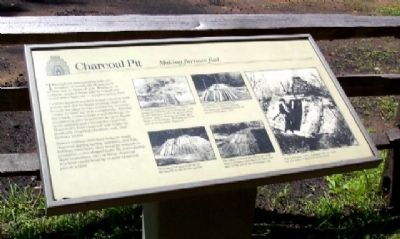 Charcoal Pit Marker image. Click for full size.