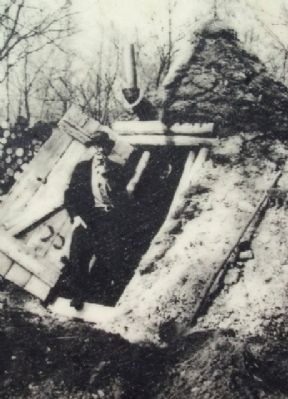 Photo of Lafayette Houck on Charcoal Pit Marker image. Click for full size.