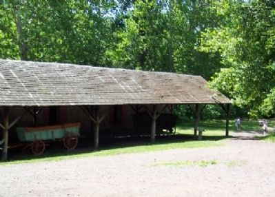 Cooling Shed and Marker Photo, Click for full size