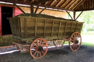 Charcoal Wagon at Cooling Shed Photo, Click for full size