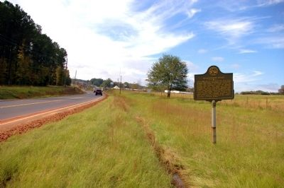 Stagecoach Road Marker Photo, Click for full size