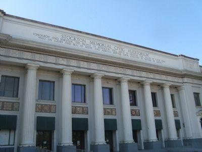 Stockton Civic Auditorium
