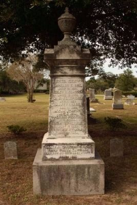 Soldiers Ground , General Officers from S.C. killed Memorial image. Click for full size.