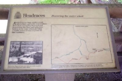 Headraces Marker image. Click for full size.
