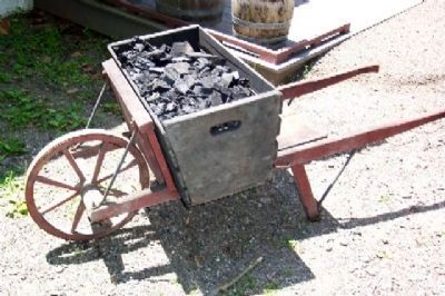 Charcoal in Cart Photo, Click for full size