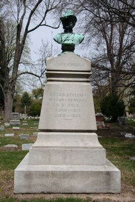 James B. Steedman's Gravestone Photo, Click for full size