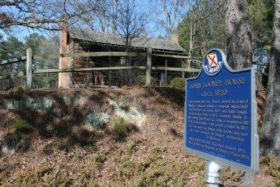 John Looney House and Marker Photo, Click for full size