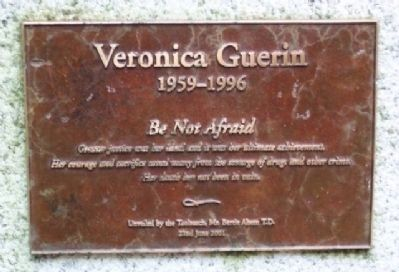 Veronica Guerin Marker image. Click for full size.