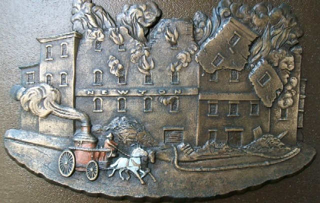 Cincinnati Fire Fighters Marker Relief