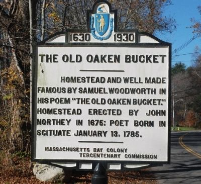 The Old Oaken Bucket Marker image. Click for full size.