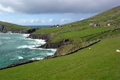 Dingle Peninsula Scene from Marker Location image. Click for full size.