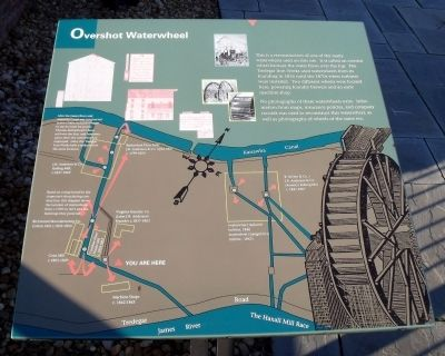 Overshot Waterwheel Marker image. Click for full size.